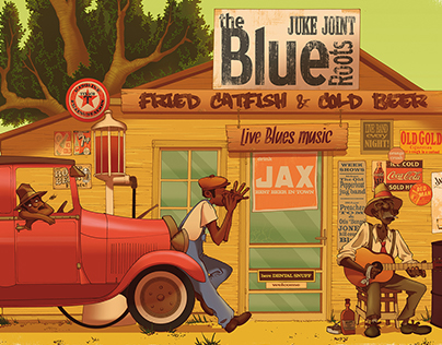 THE BLUE ROOTS - Lonely Juke Joint