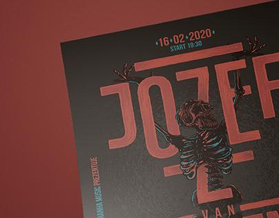 Jozef Van Wissem (gig poster)
