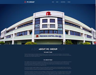 PC GROUP web design