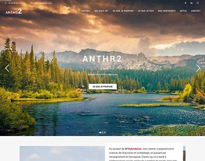 ANTHR2 - Wordpress website