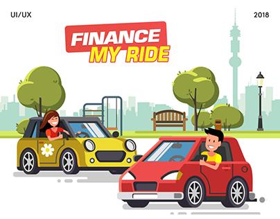 Finance My Ride — Landing Page
