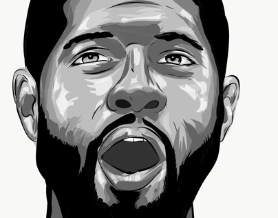 Paul George illustration