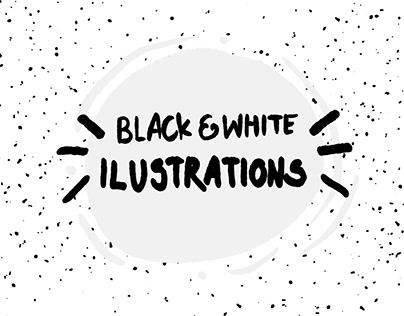 Black&White illustrations