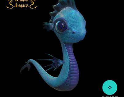 Water Dragon Animation - Dragon Legacy