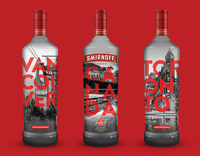 Smirnoff Limited Edition Bottles (Canada and USA)