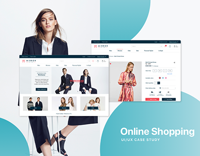 Mirror | E-commerce | UI/UX Design