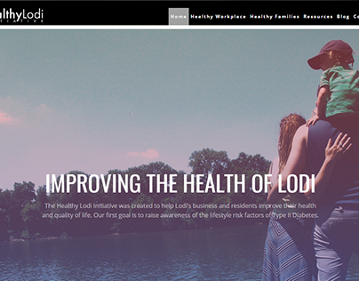 HealthyLodi.com Website Design