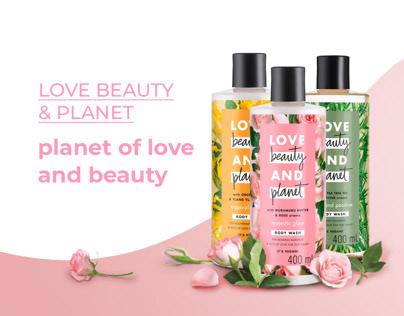 Love Beauty & Planet POSM