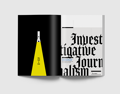 Investigative Journalism Feature Magazine Spreads