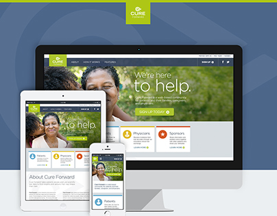 Cure Forward Responsive Web