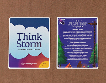 ThinkStorm Playing Cards