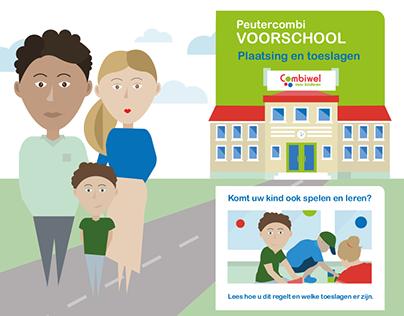 Infographic Voorschool | Combiwel Amsterdam