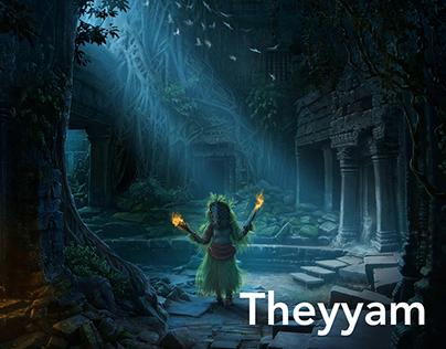 Theyyam Installation