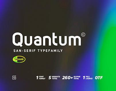 Quantum Sans Typefamily