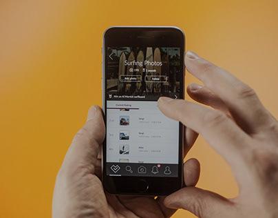Votography: UX, UI & Brand.