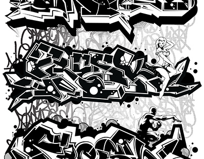 Digital Graffiti & Prints