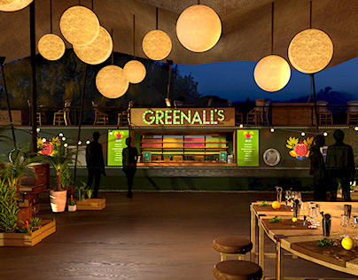 Greenalls Gin Canalboat Event