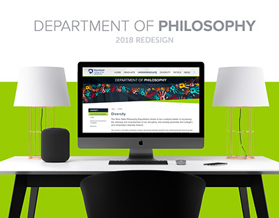 Penn State Department of Philosophy Website Design