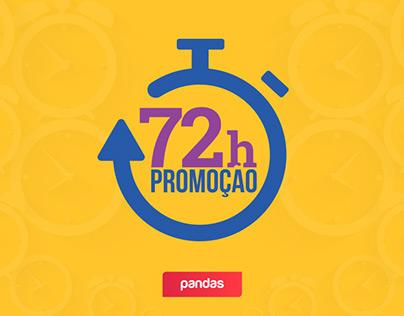 Pandas.com.br | Campanha 72h