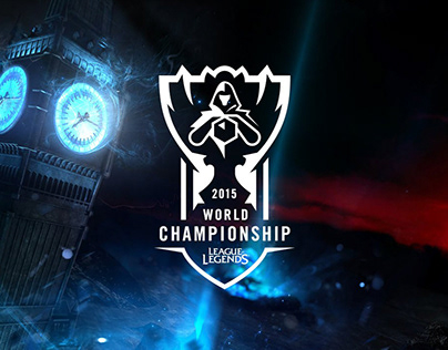 League of Legends Worlds Final 2015 Stage Graphics