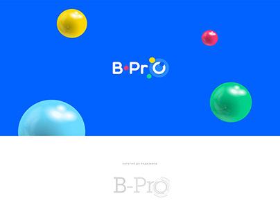 B-Pro. Брендбук, фирменный стиль, логотип