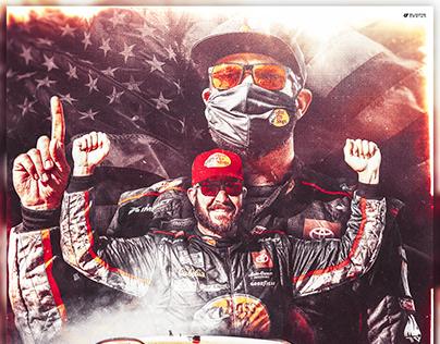 Martin Truex Jr. NASCAR Poster