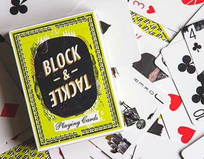"""BLOCK & TACKLE's Collectible """"Open Eyes"""" Card Deck"""