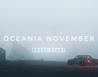 OCEANIA NOVEMBER