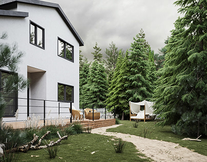 05 House in the forest   CGI