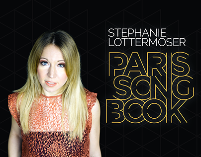 Stephanie Lottermoser - Paris Songbook - Poster