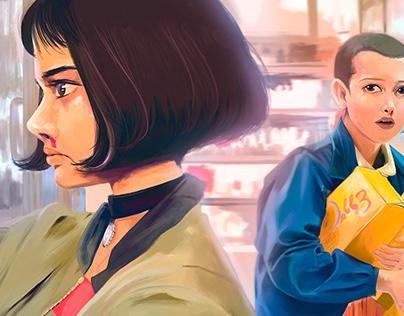 CROSSOVER / Mathilda & Eleven / Ilustración