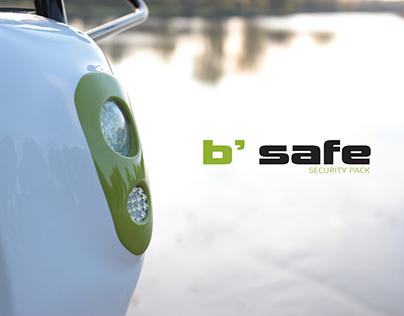 Industrial Design / B'Safe Security Pack