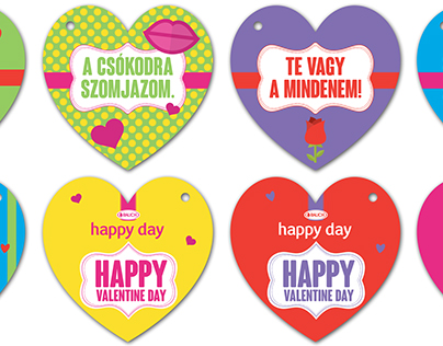 Happy Day bottle cards