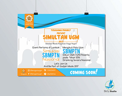 Poster TryOut UGM 2017