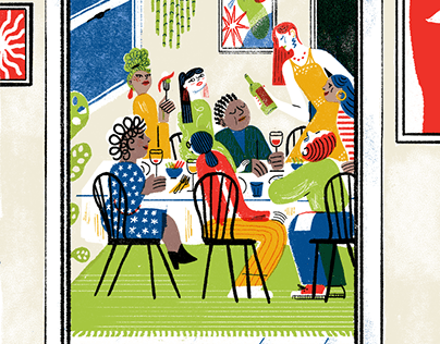 Dinner party - Washington Post Journal