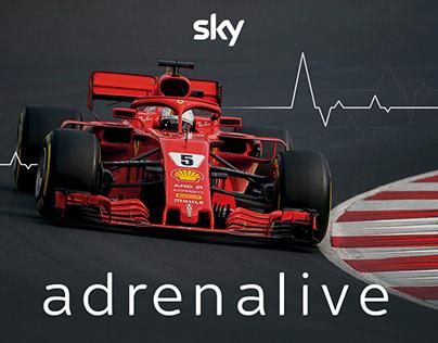 Formula 1 - Digital Activation | Sky