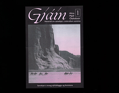 Poster for Gjáin, radio show