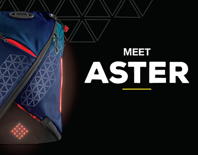 Aster- The world's safest cycling bag