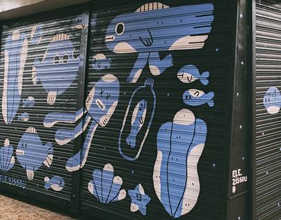 Pinta Malasaña / Mural