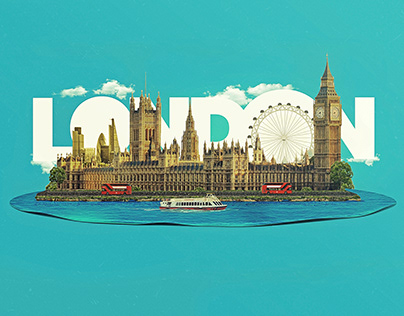 London Landscape Artwork