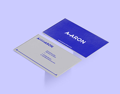 Aaron Architect brand design