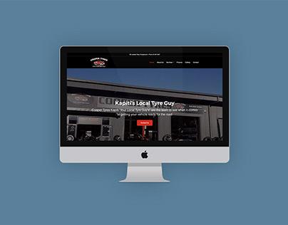 Website Design & Development - Cooper Tyres Kāpiti