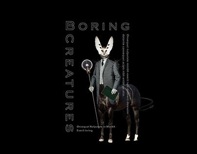 Boring Creatures Brand Design