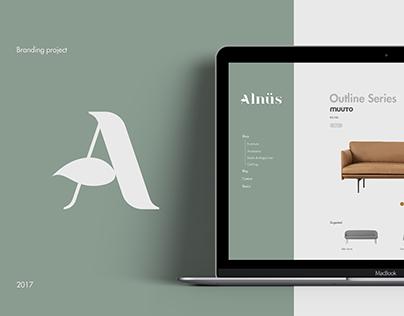 Alnüs — Identity & Web