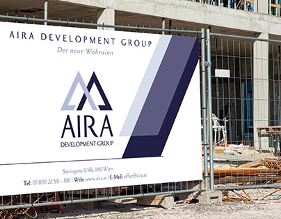 REAL ESTATE IDENTITY AIRA CONSTRUCTION BRANDING