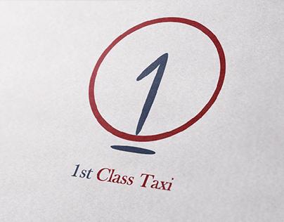 FIRST CLASS TAXI LOGO