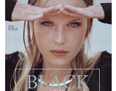 BLACK is the new BLACK for PROMO NY Magazine