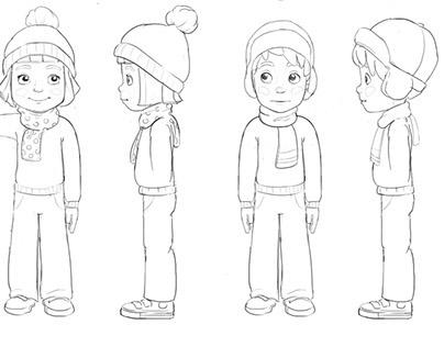 Karsten and Petra (Character design)