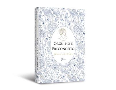 """Cover design of """"Orgulho e preconceito"""""""