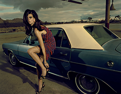 Jacques Olivar for Marie Claire Italy